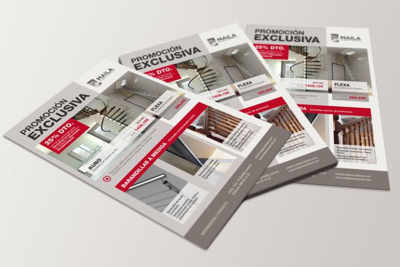 BRANDING, PUBLICIDAD y WEB - MAILA Escaleras y Elevadores 4