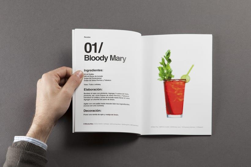 Diseño de carta de cocktails para Nectar Events 3