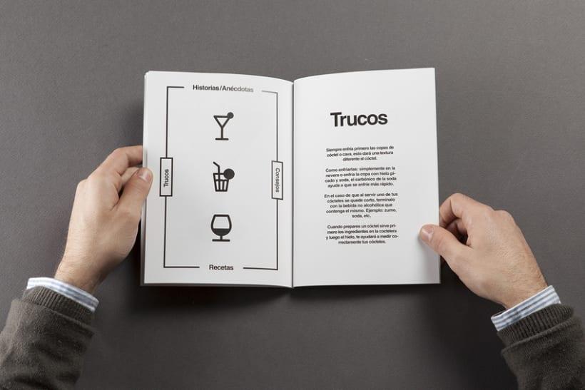 Diseño de carta de cocktails para Nectar Events 5