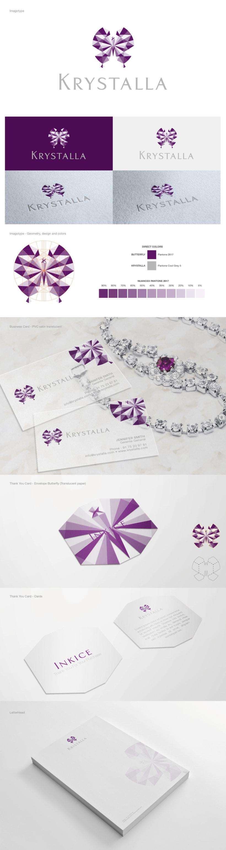 BRANDING - Krystalla (tienda online de joyas) -1