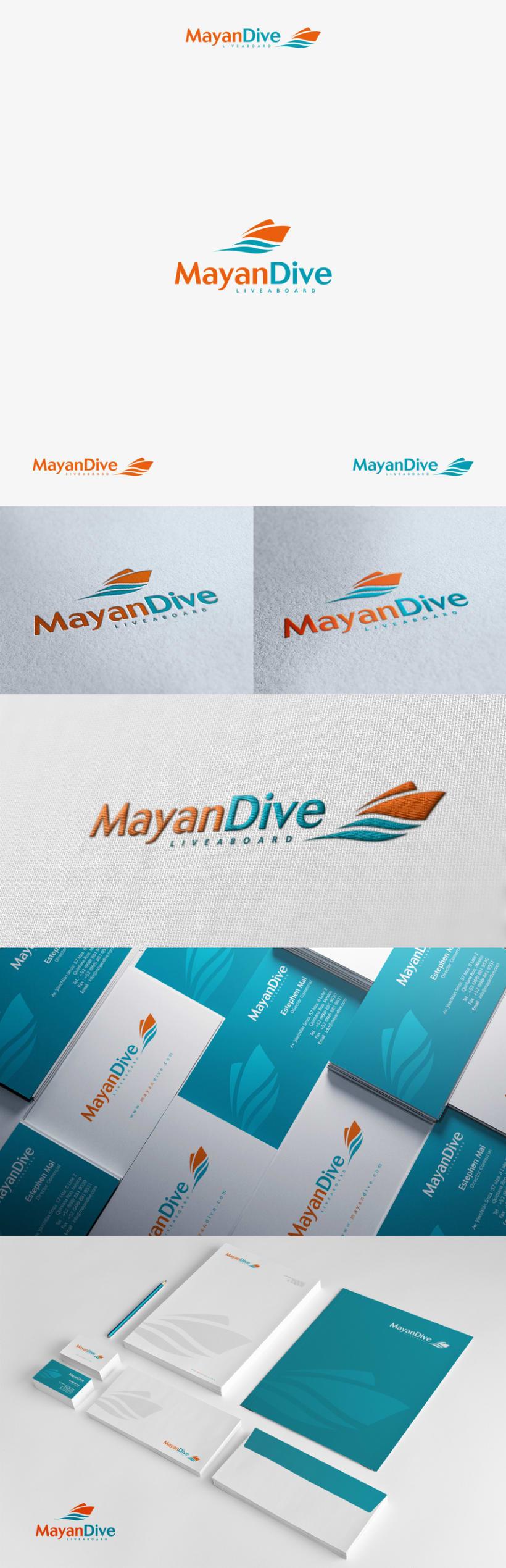 BRANDING - MayanDive (Cruceros de buceo) -1