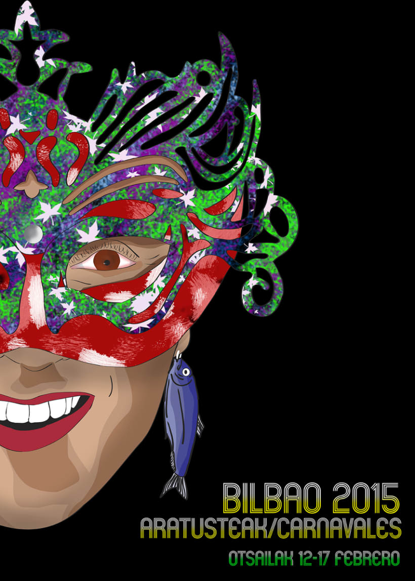 Cartel Carnavales Bilbao 2015 0