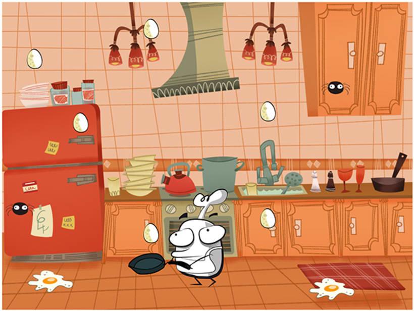 Mr DUMMY in the kitchen 2