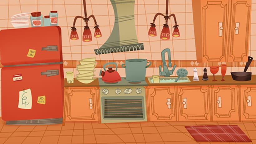 Mr DUMMY in the kitchen 0