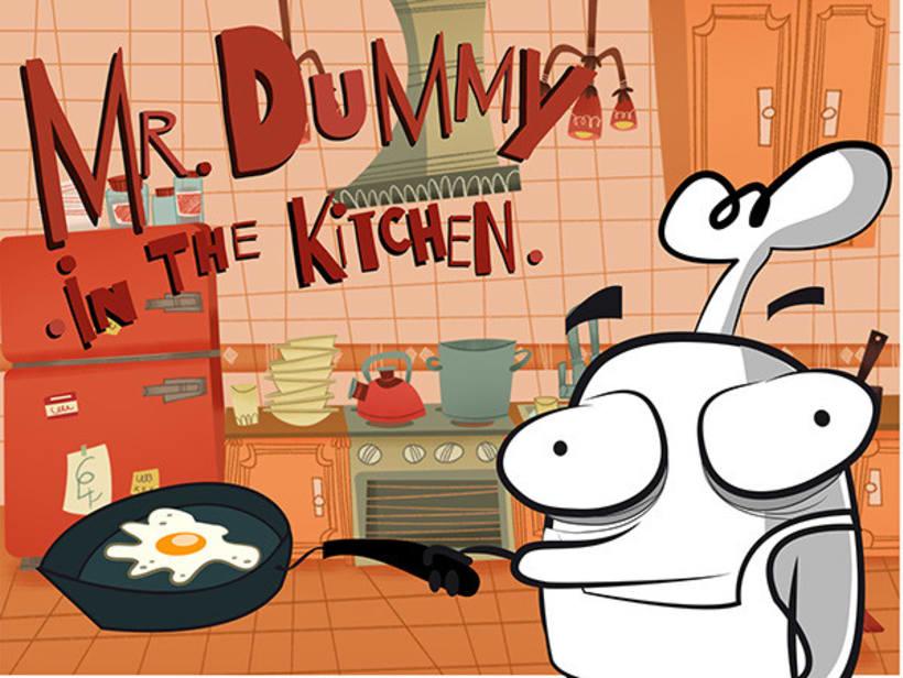 Mr DUMMY in the kitchen 1