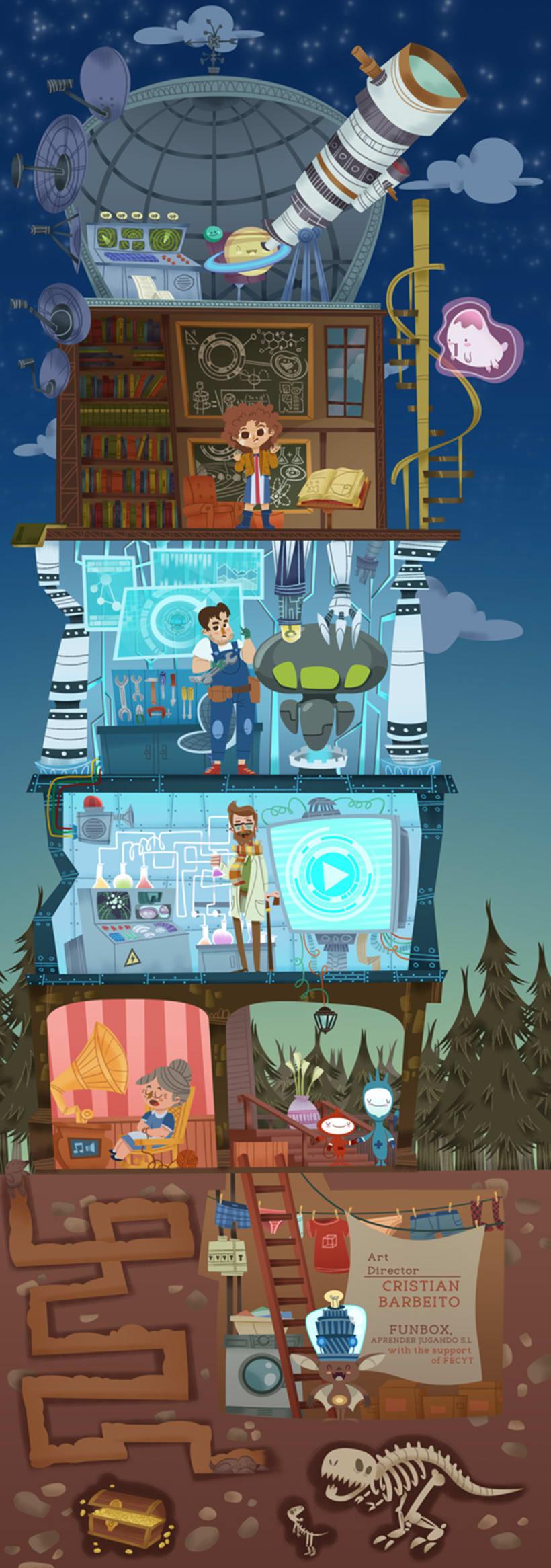ScienceBOX Videojuego App 3