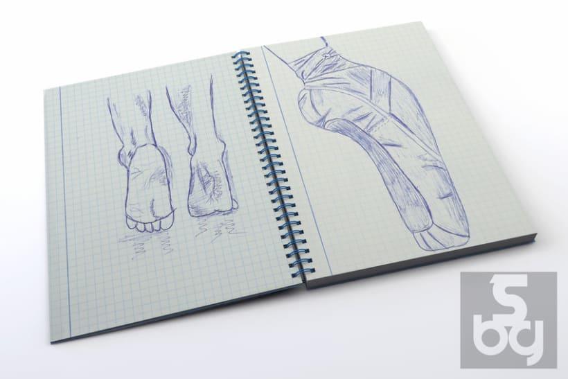 Dibujos en el tren 2