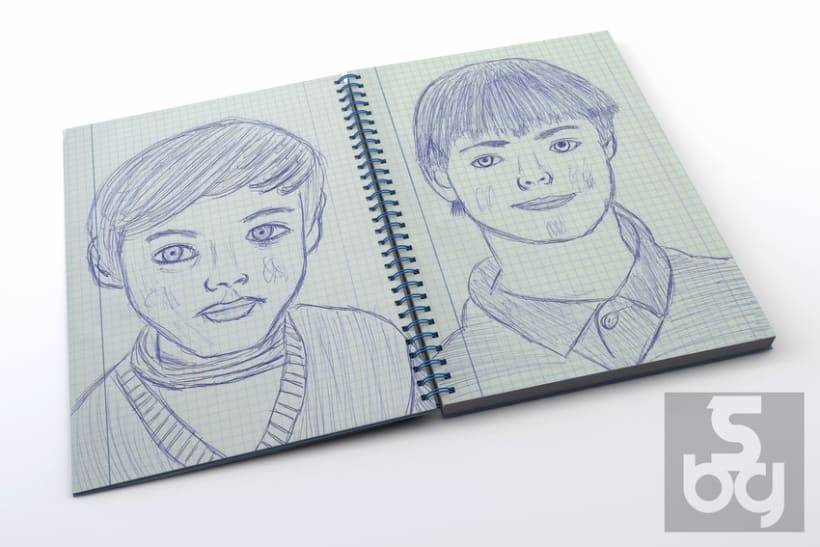 Dibujos en el tren 5
