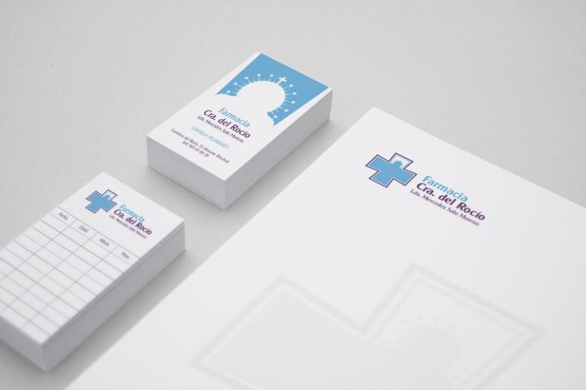 BRANDING, VINILO DECORATIVO GRAN FORMATO - Farmacia Ctra. del Rocío 1