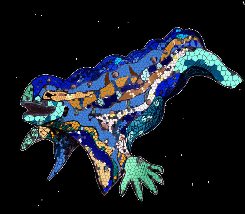 Salamandra del Parc Güell -1