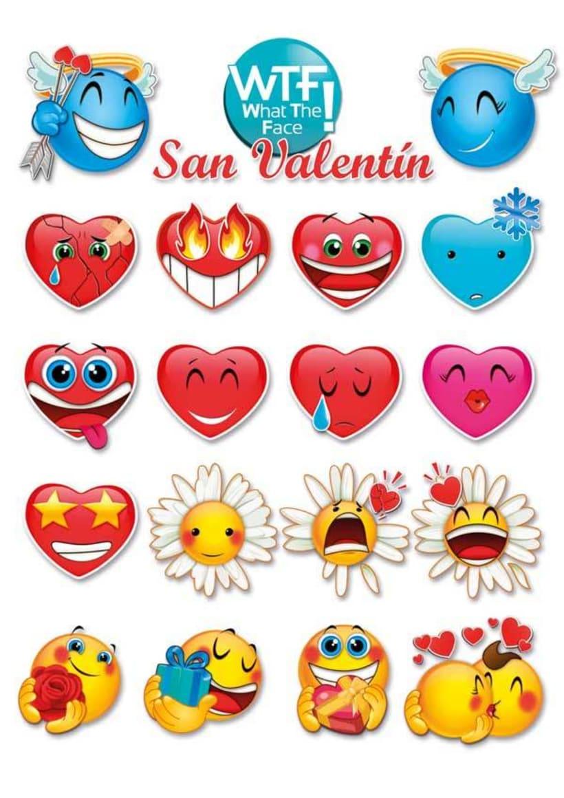 WTF Emoticonos ·ilustración para apps· 1