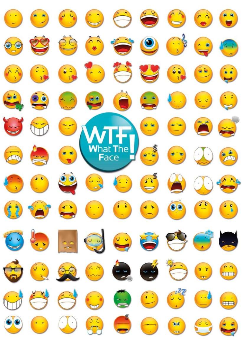 WTF Emoticonos ·ilustración para apps· 0