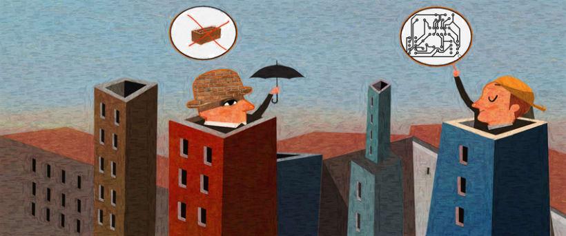 Primer premio del Salon de la ilustracion 2014 Mumart -1