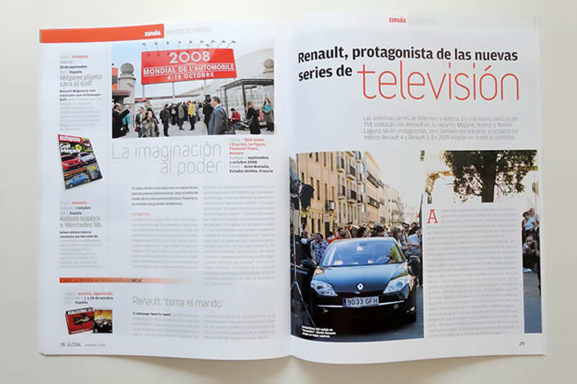 Global Magazine para Renault 2