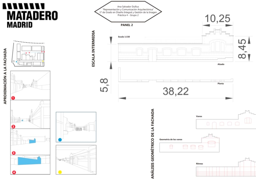 Representación Arquitectónica de MATADERO Madrid 0