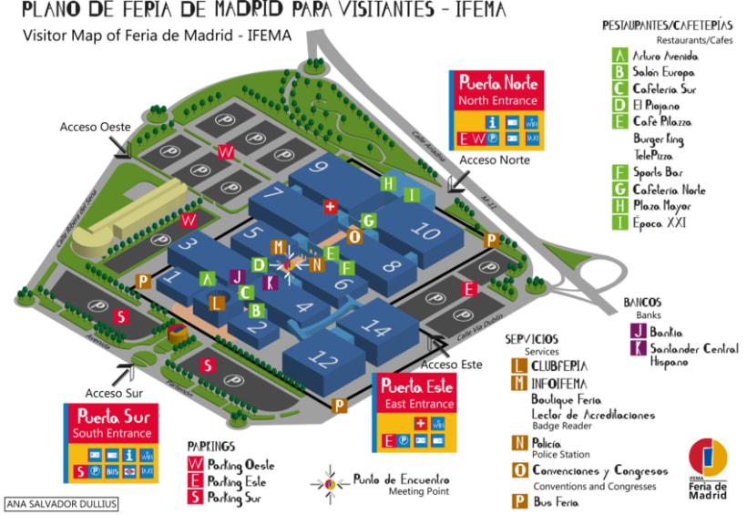 Plano Infográfico de IFEMA para Visitantes -1