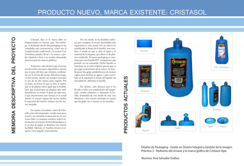 Rediseño del Packaging de un Producto Existente: CRISTASOL -1