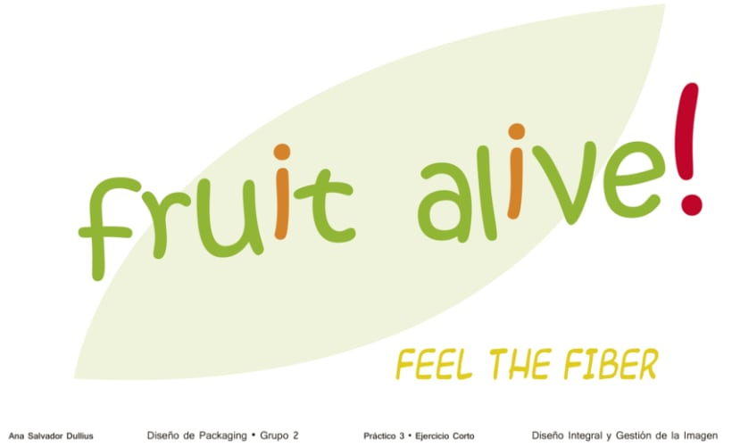 Fruit alive! - Diseño de Packaging para 5 Piezas de Fruta -1