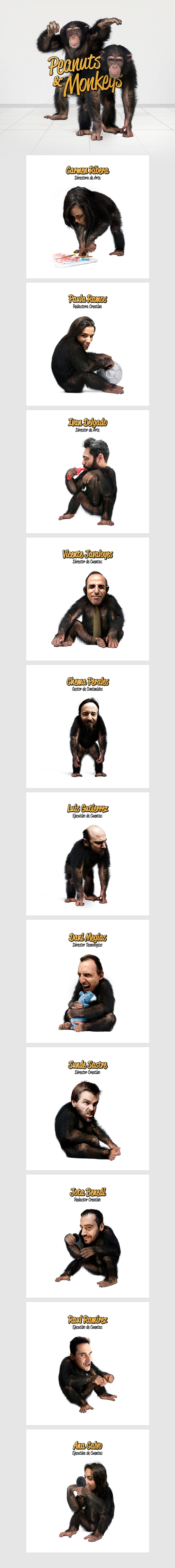 Peanuts & Monkeys / Fotomontajes Web Corporativa -1