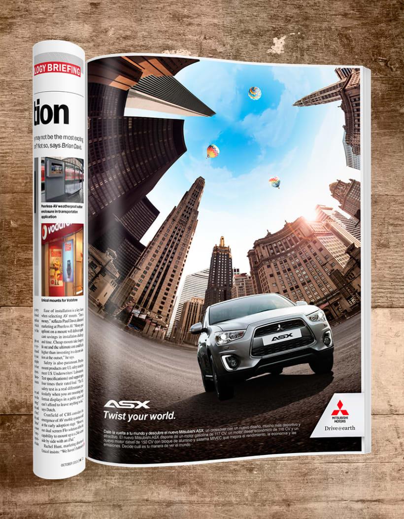 Mitsubishi / Gráfica Prensa ASX 0