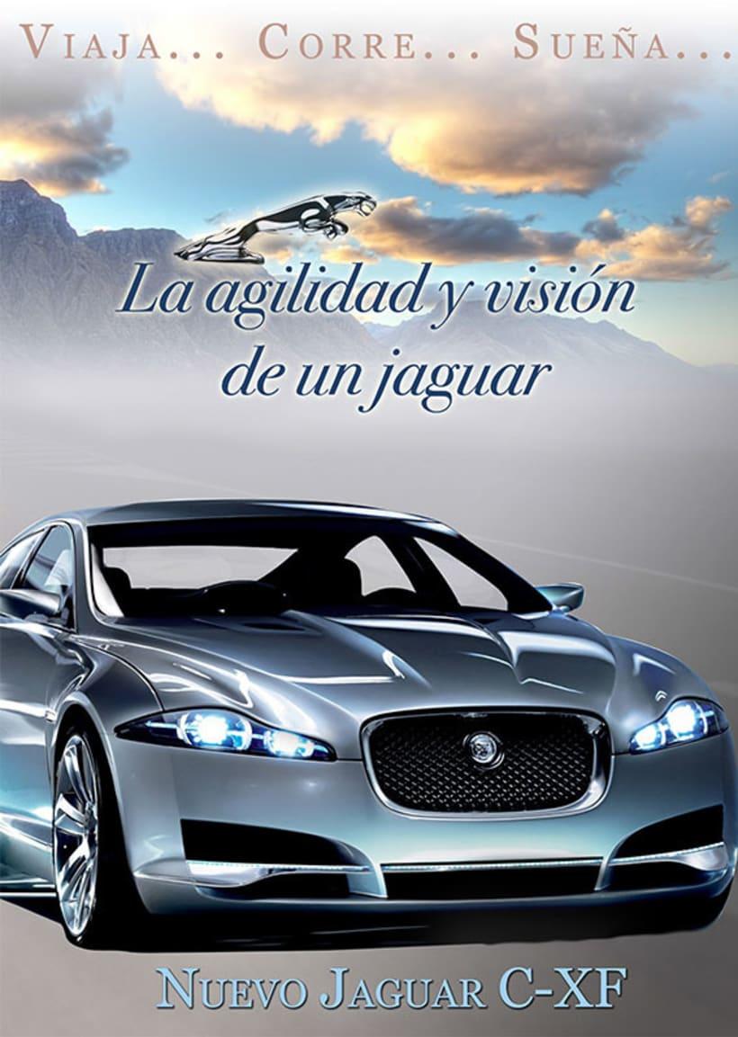 Carteleria de coche Jaguar 2