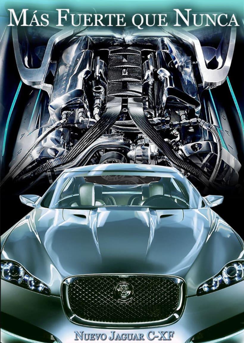 Carteleria de coche Jaguar 3