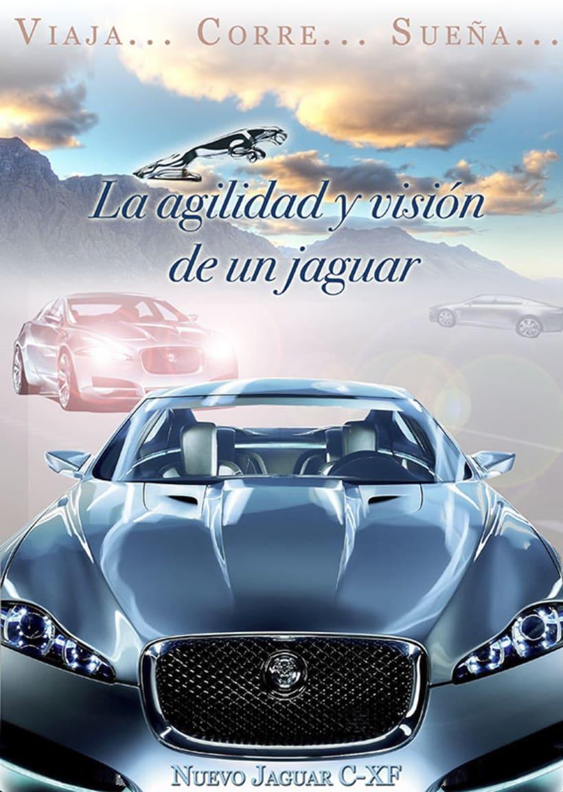 Carteleria de coche Jaguar 1