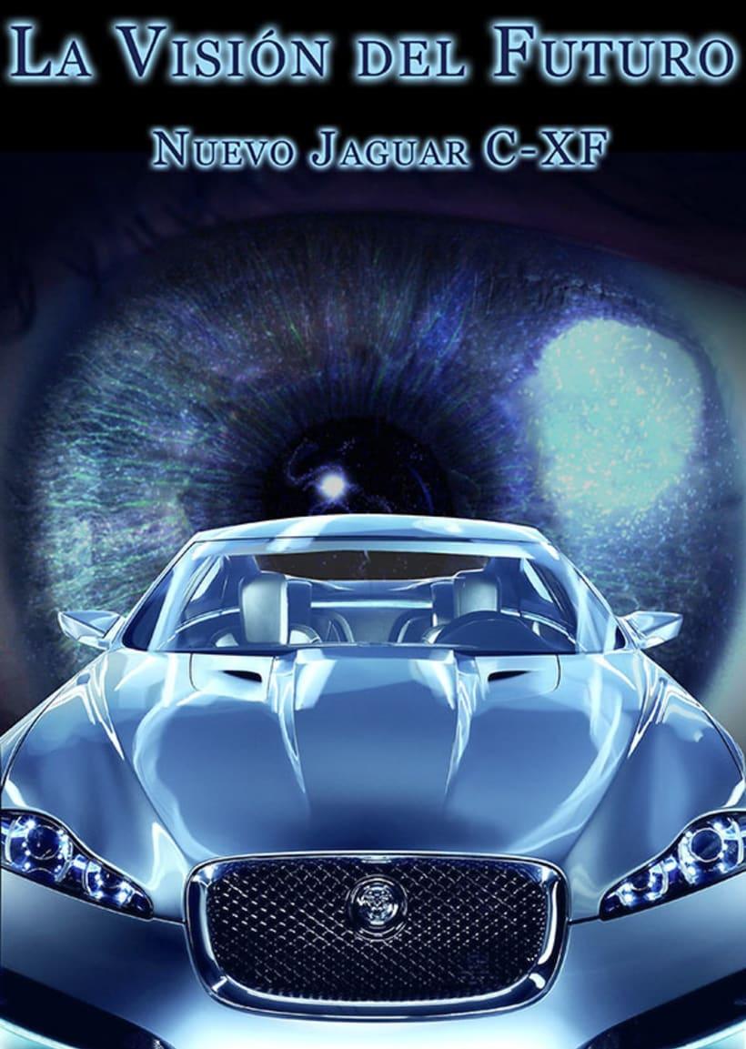 Carteleria de coche Jaguar 5
