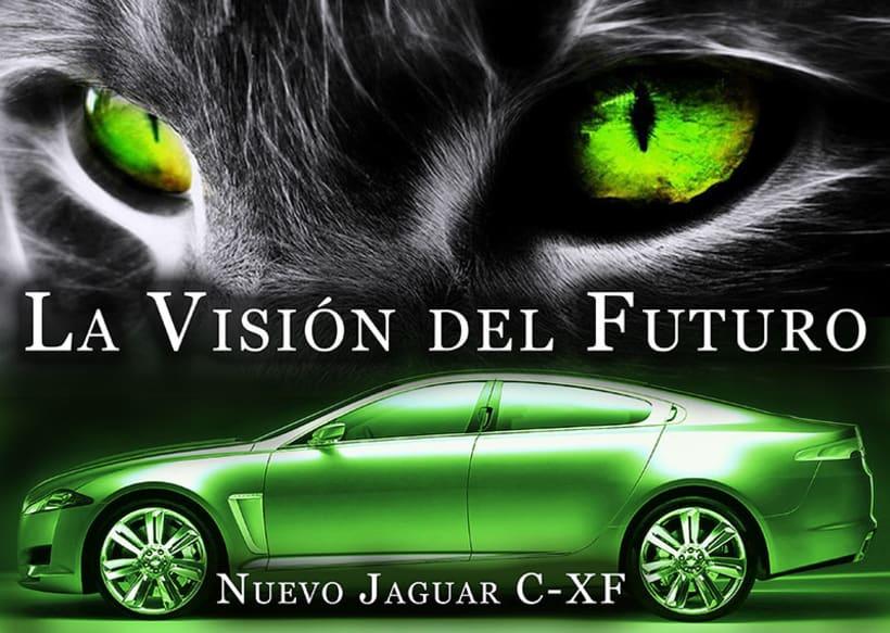Carteleria de coche Jaguar 7
