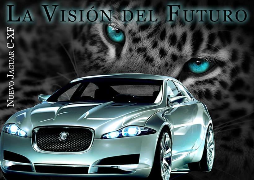 Carteleria de coche Jaguar 8