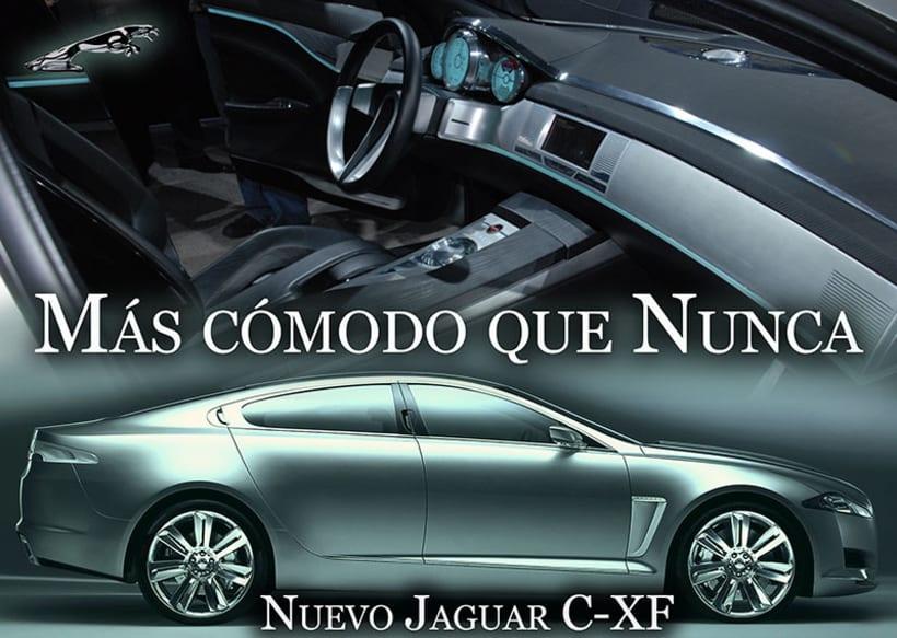 Carteleria de coche Jaguar 4