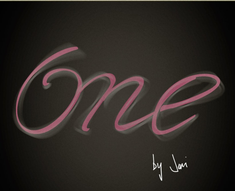 one  0