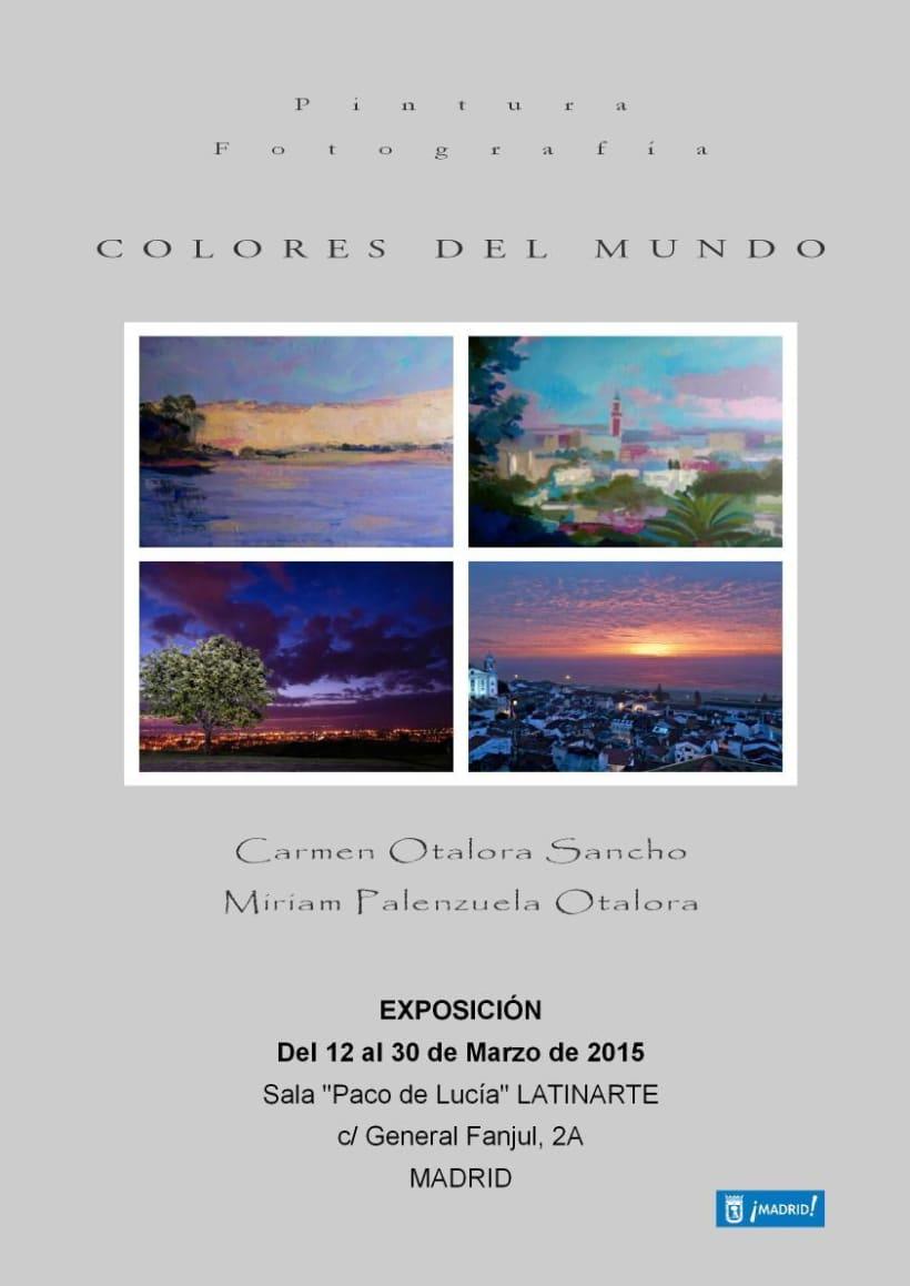 """Exposición """"Colores del Mundo"""" -1"""