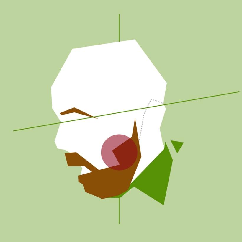 Retratos geométricos 3