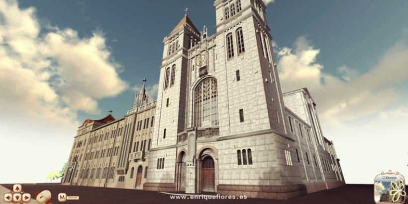 Visita virtual del Monasterio Sao Bento de Brasil 8