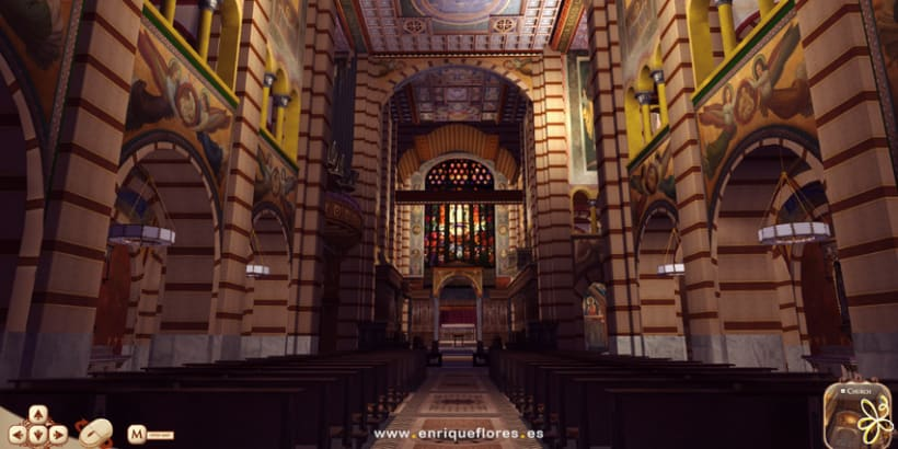 Visita virtual del Monasterio Sao Bento de Brasil 9