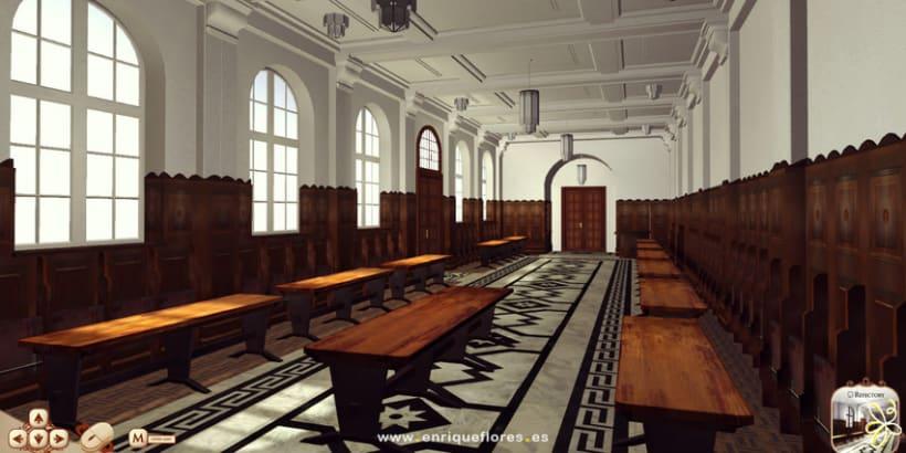 Visita virtual del Monasterio Sao Bento de Brasil 11