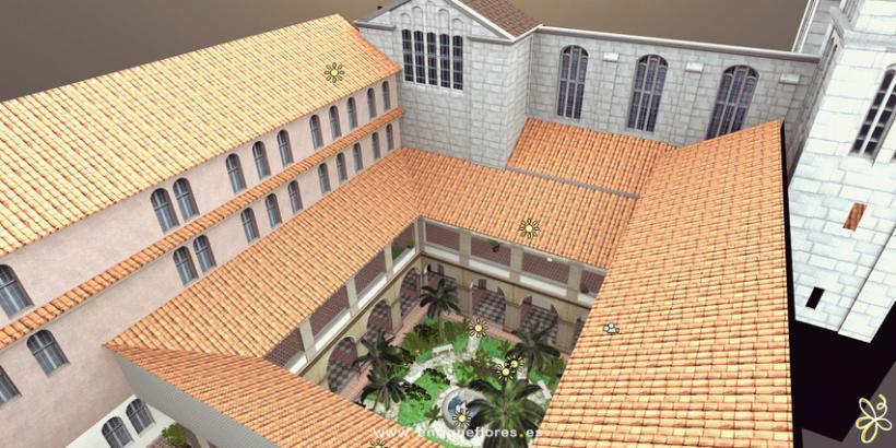 Visita virtual del Monasterio Sao Bento de Brasil 12