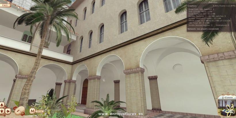 Visita virtual del Monasterio Sao Bento de Brasil 13