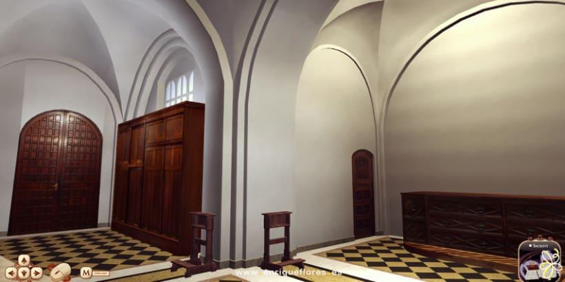 Visita virtual del Monasterio Sao Bento de Brasil 14