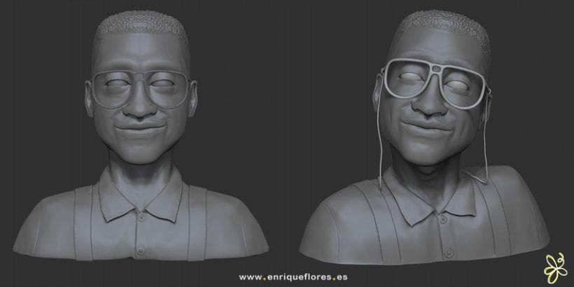 Steve Urkel 3D 1