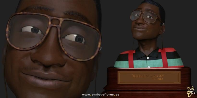 Steve Urkel 3D 0