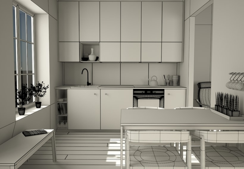 Cocina modular Ikea 2015 | Domestika