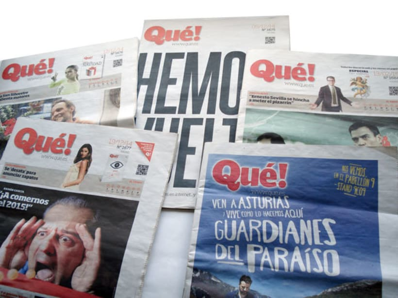 Periódico Qué! 0
