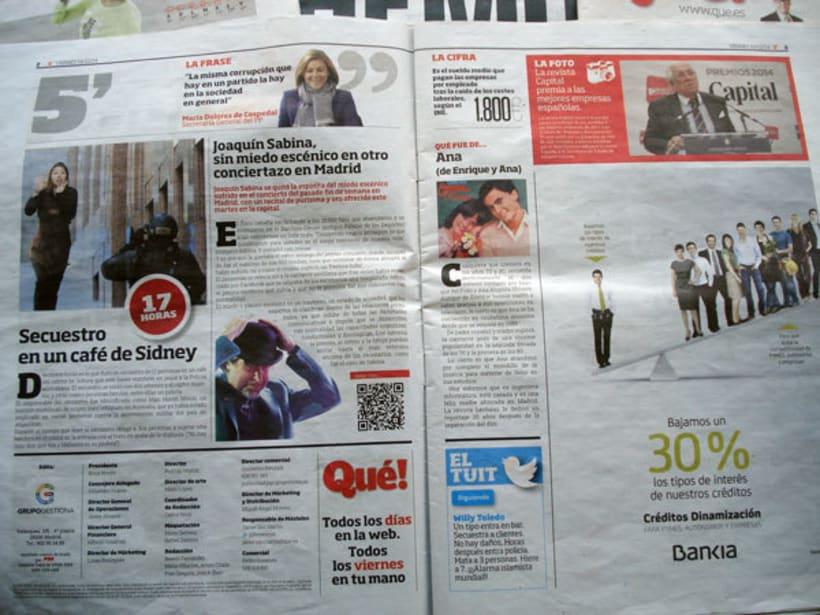 Periódico Qué! 4