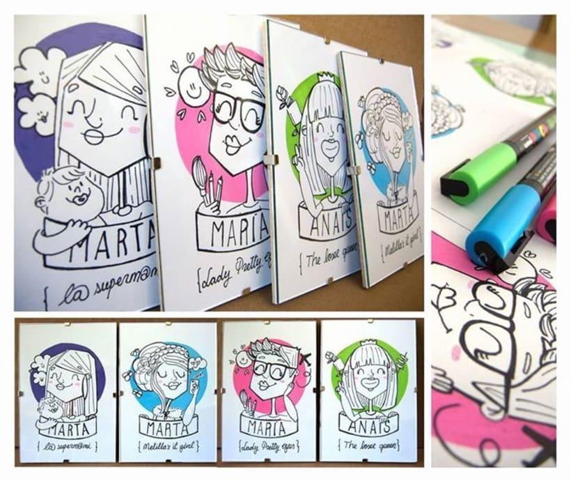 RETRATOONS Caricaturas personalizadas 100% a mano o digitales 0