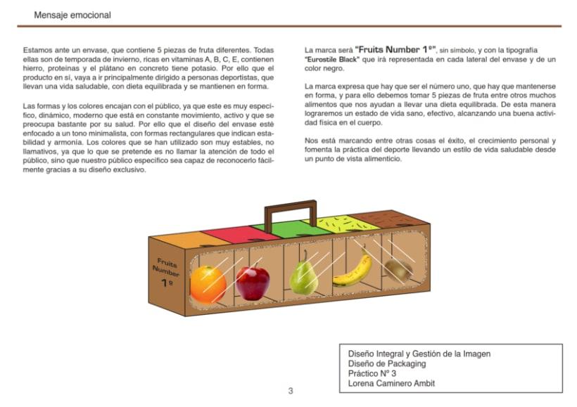 Dise o de packaging 5 piezas de fruta domestika for Diseno de packaging pdf
