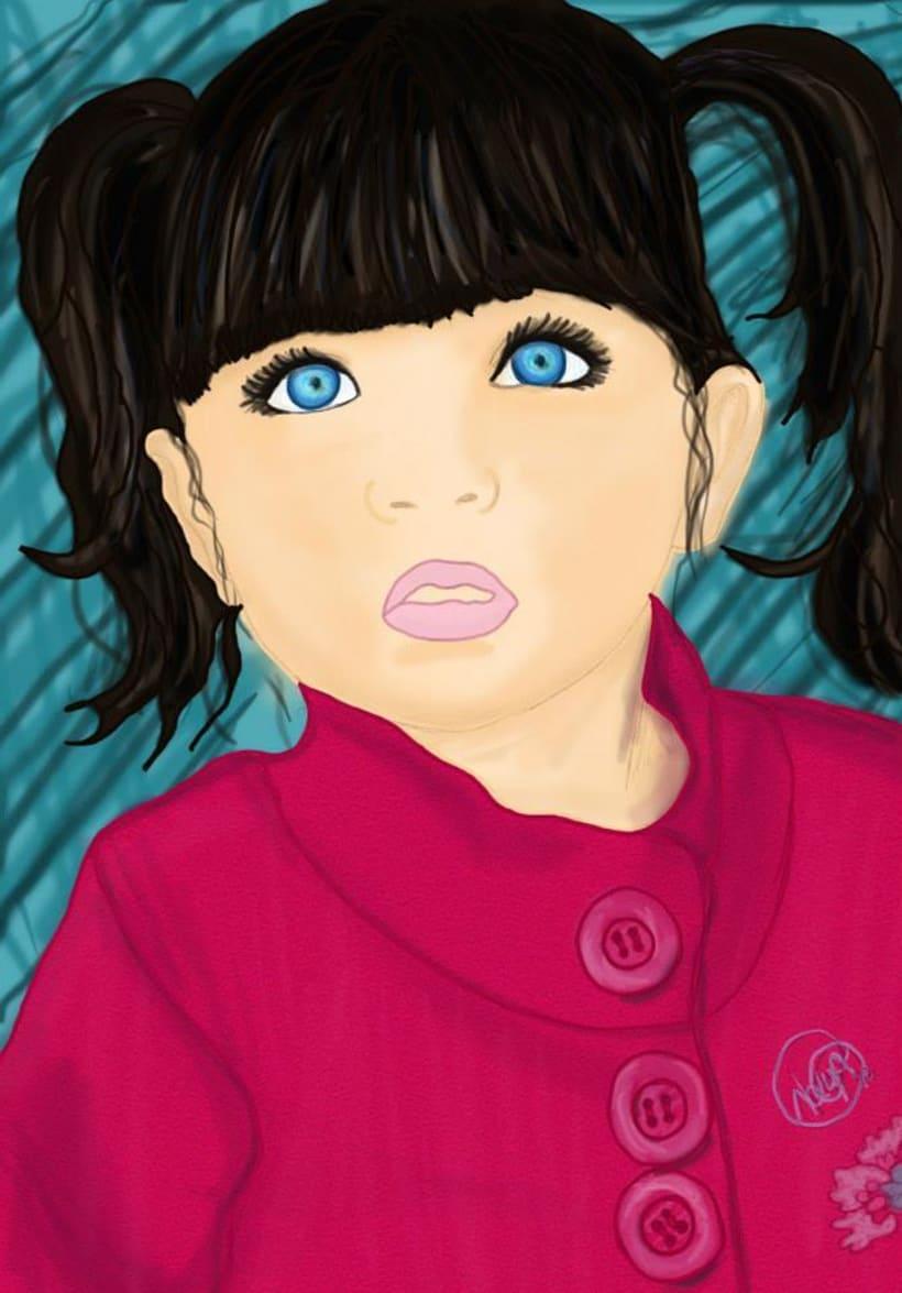 Ilustraciones a lápiz con acabado digital 9
