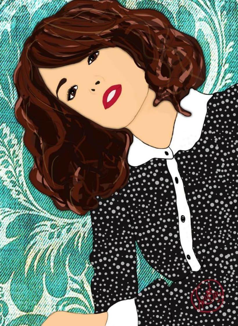 Ilustraciones a lápiz con acabado digital 12