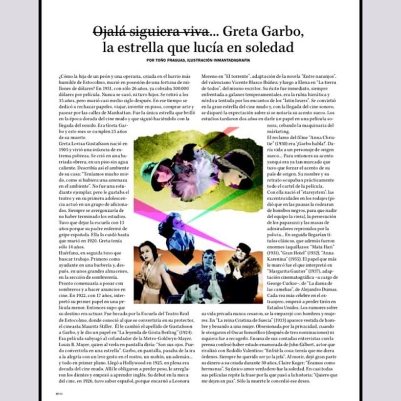 Colaboración para la revista Vanidad 18